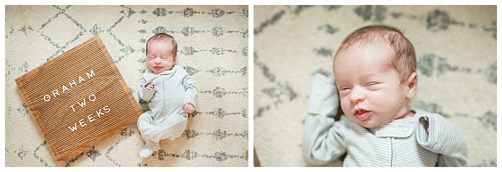 Graham one month, local wedding photographer