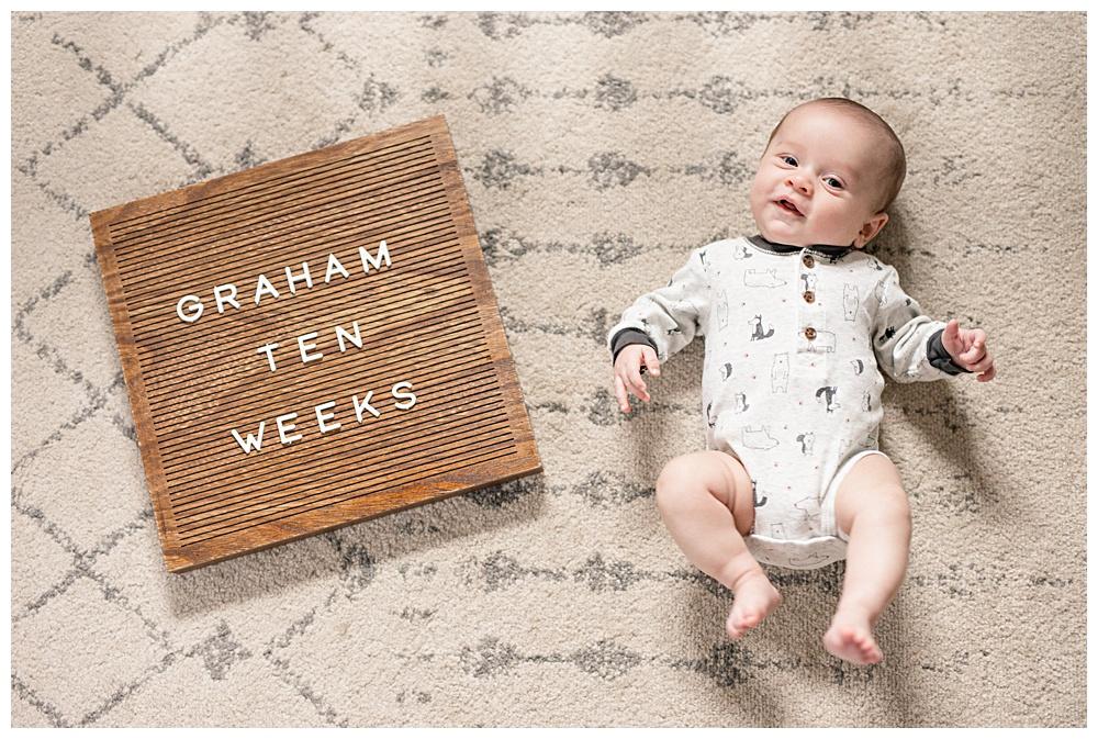 Graham three months, coronavirus