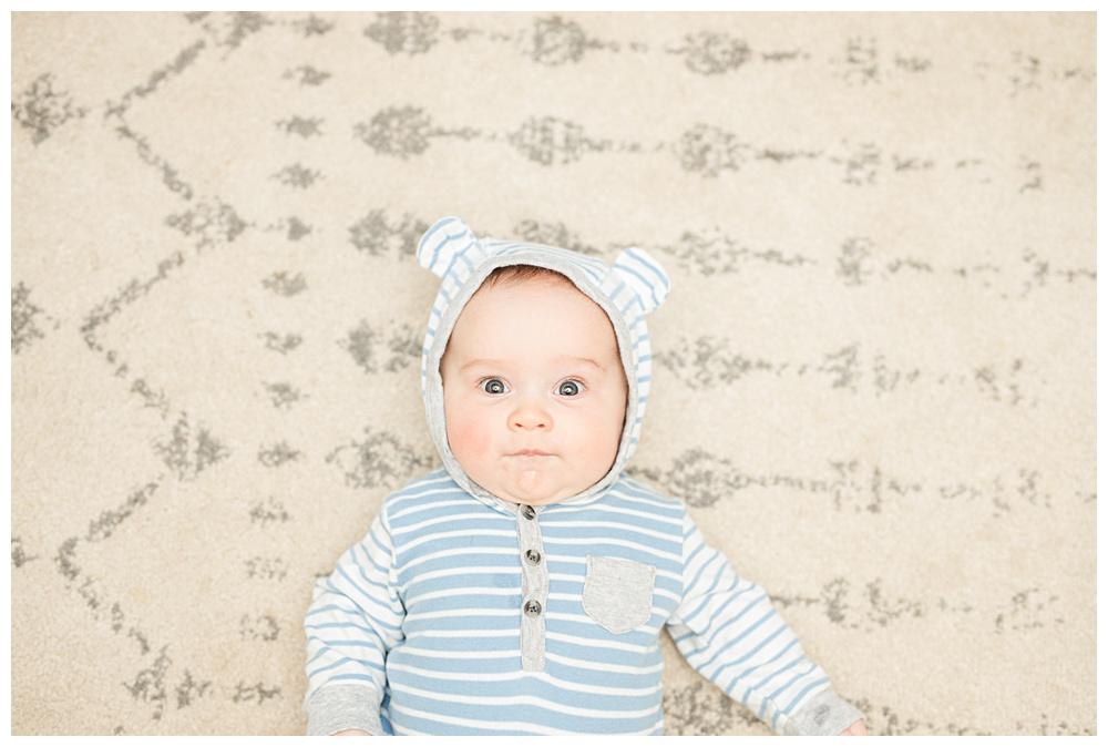 four month old, graham Franklin