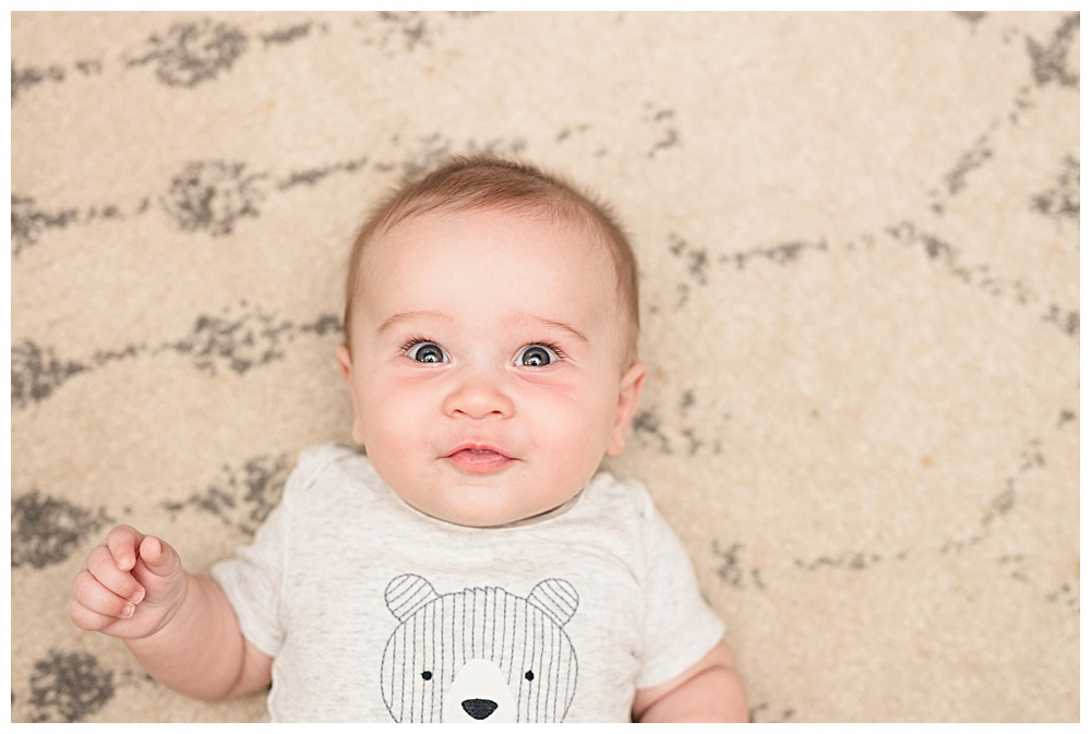 graham Franklin, five months old,