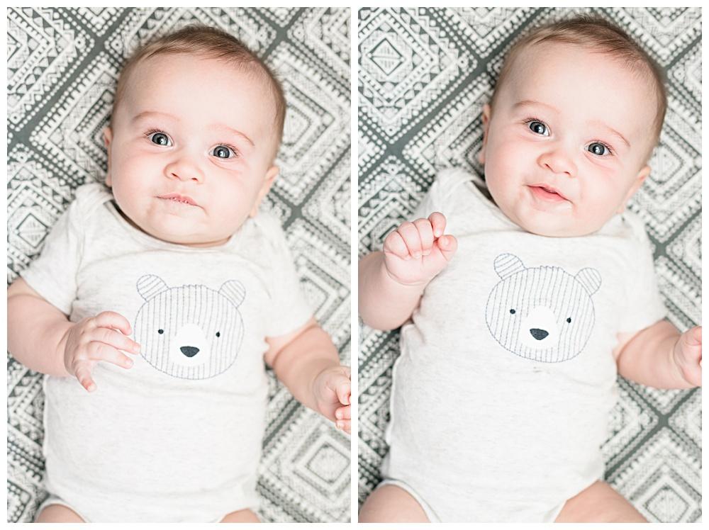 graham Franklin, five months old,