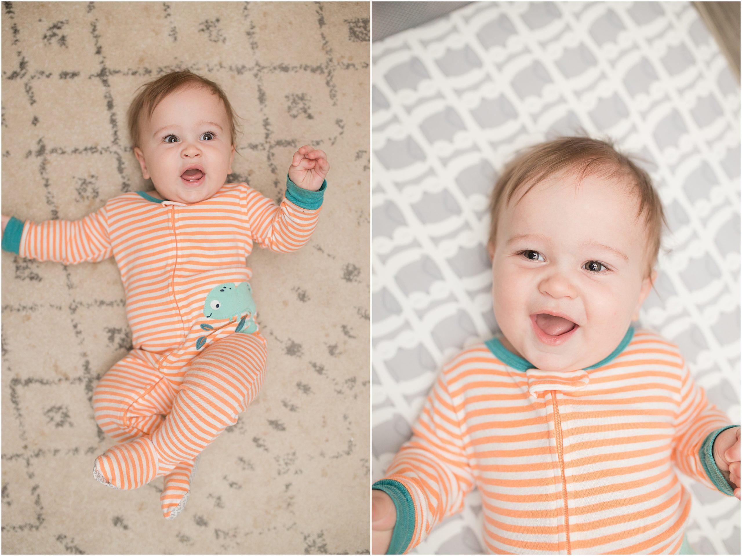 graham Franklin ten months old, Trisha McCarthy photo