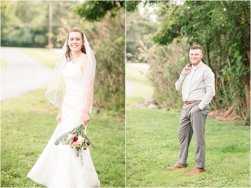 gorgeous late summer wedding